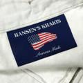 Chamois Cloth Pant - Model F2P Standard Fit Reverse Pleat in British Tan by Hansen's Khakis