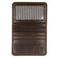 Card Wallet in Brompton Brown by Moore & Giles
