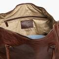 Benedict Weekend Bag in American Bison by Moore & Giles