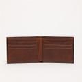 Bi-Fold Wallet in Brompton Brown by Moore & Giles