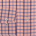 Papaya Beach Check Linen and Cotton Estate Sport Shirt by Robert Talbott