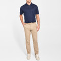 Summertime Linen Polo with Self Collar in Barchetta by Peter Millar