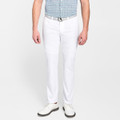EB66 Performance Six-Pocket Pant in White 'Crown Sport' by Peter Millar