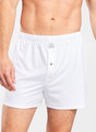 Bold Stretch Jersey Performance Boxer in White by Peter Millar