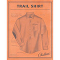 Elbow-Patch Trail Shirt in Blue & Tan Ombre by Pendleton