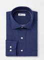 Block Island Cotton-Blend Sport Shirt in Navy by Peter Millar