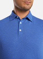 Crown Soft Dot Polo in Blue Lapis by Peter Millar