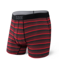 Quest Boxer Brief in Red Sunrise Stripe by SAXX Underwear Co.