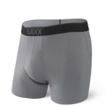 Quest Boxer Brief in Dark Charcoal II  by SAXX Underwear Co.