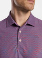 Bay Performance Polo in Pomegranate by Peter Millar