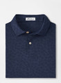 Carl Floral Performance Jacquard Polo in Navy by Peter Millar