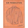 Blue and Turquoise Check Sir Pendleton Wool Shirt by Pendleton