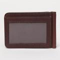 Spring ID Wallet in Brunswick Terra by Moore & Giles