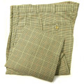 Olive and Oatmeal Cotton Houndstooth Tweed Pant (Model M2P, Size 35 & 37) by Bills Khakis