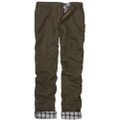 Flannel Lined Vintage Twills in Fatigue (Model M2, Size 46) by Bills Khakis