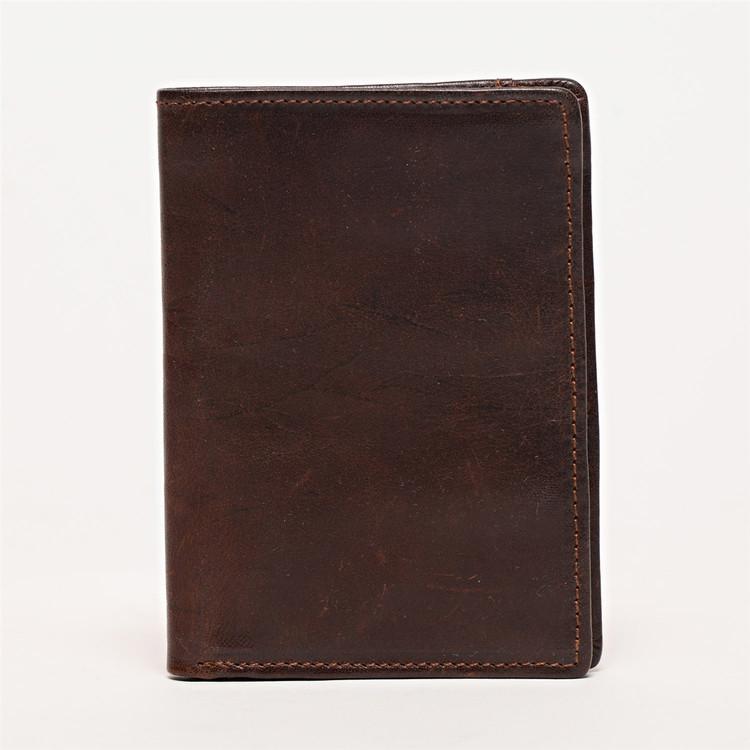 Men's Wallet in Brompton Brown by Moore & Giles