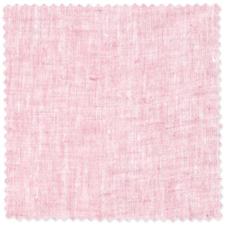 Pink Linen Custom Dress Shirt by Robert Talbott