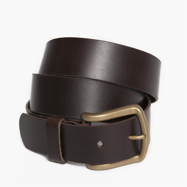 Antique Douglas Belt in Brown by Moore & Giles