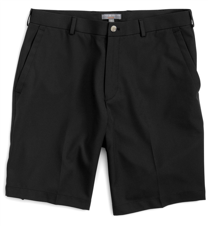 Salem Element 4 Performance Short in Black by Peter Millar