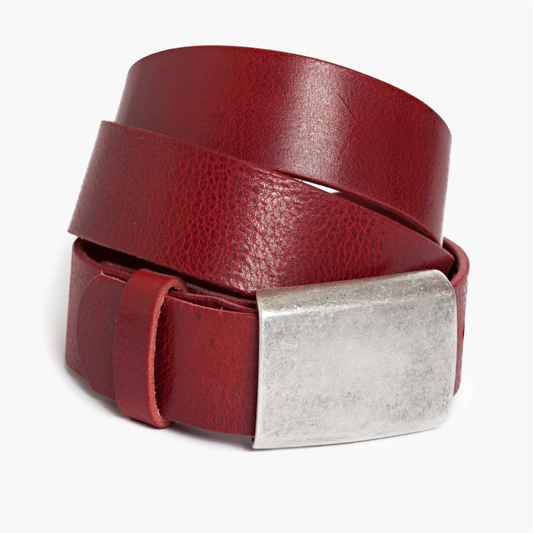 Douglas Belt in Red by Moore & Giles
