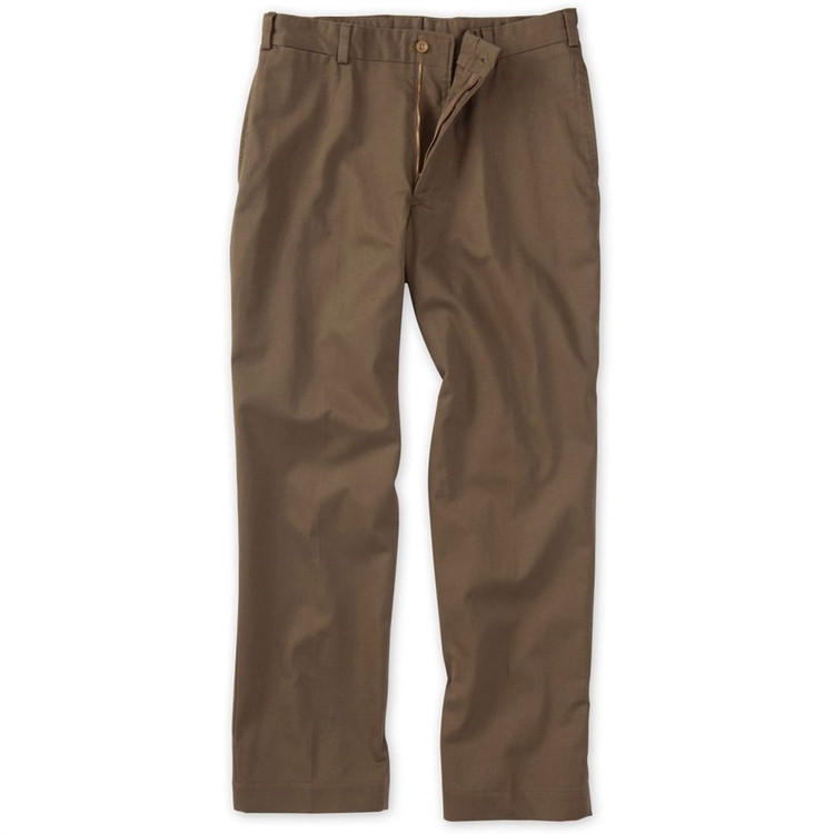 Original Twill Pant - Model M2 Standard Fit(Size26) Plain Front in Mushroom by Bills Khakis