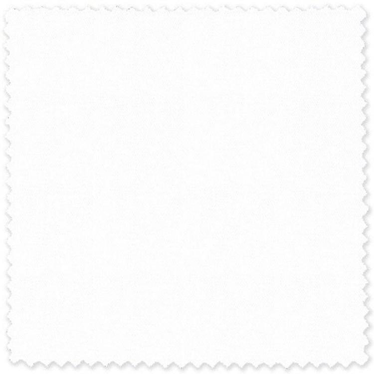 White Cotton Twill Custom Dress Shirt by Skip Gambert