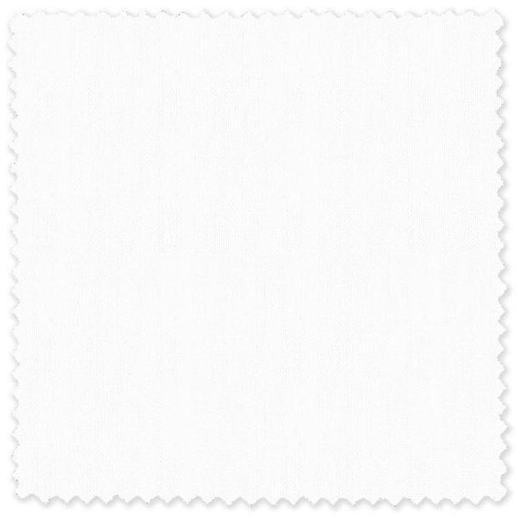 White Pure Linen Custom Dress Shirt by Skip Gambert