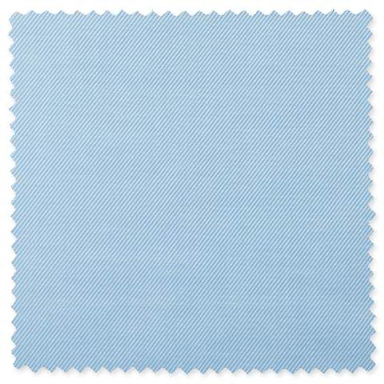 Covert Twill Custom Dress Shirt in Blue by Gitman Brothers