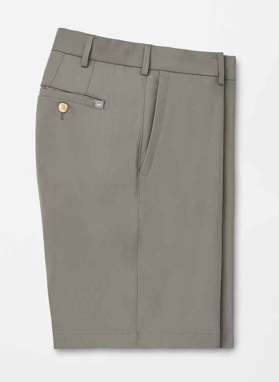 Salem High Drape Performance Short in SMOKE by Peter Millar