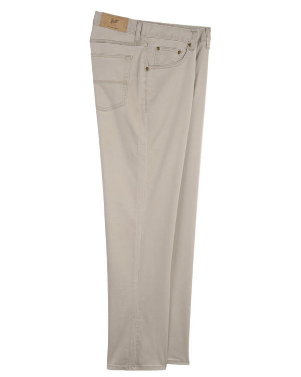Five Pocket - Straight Fit - T400 Performance Twill in Oyster by Bills Khakis