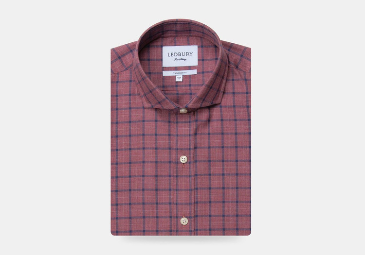 The Currant Wiltsie Check Casual Shirt by Ledbury