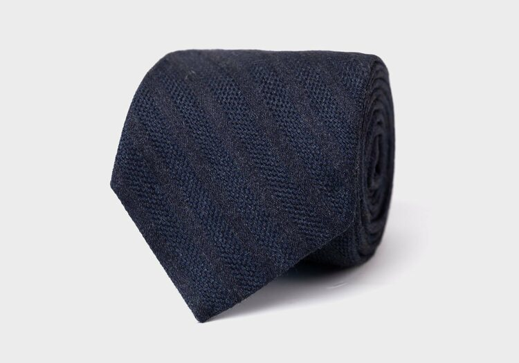 The Midnight Blue Goethe Tie by Ledbury