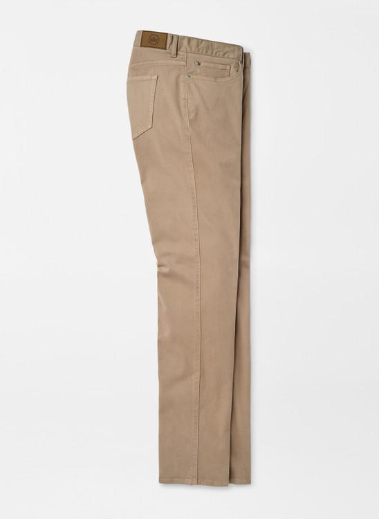Ultimate Sateen Five-Pocket Pant in Grain by Peter Millar