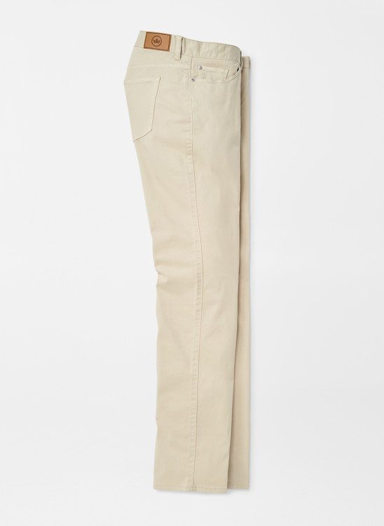 Ultimate Sateen Five-Pocket Pant in Sand by Peter Millar