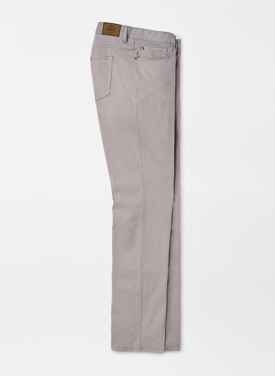 Ultimate Sateen Five-Pocket Pant in Gale Grey by Peter Millar