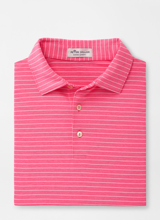 Spring 2020 Crafty 'Crown Sport' Performance Polo with Sean Self Collar in Pink Rose by Peter Millar