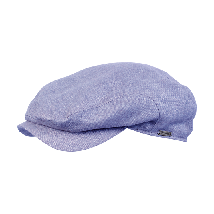 Classic Linen Ivy Classic Cap in Blue by Wigens