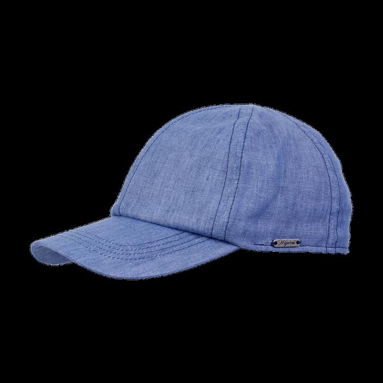 Classic Linen Baseball Cap in Blue by Wigens