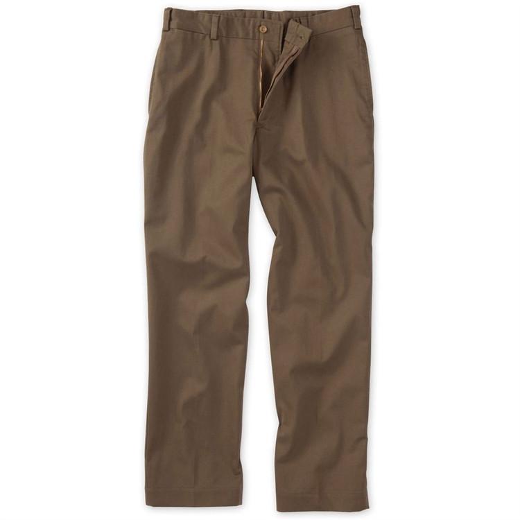 Original Twill Pant - (Size 40x35)Model M2 Standard Fit Plain Front in Mushroom by Bills Khakis