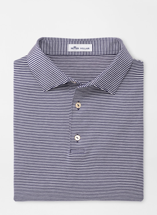 Bridgewater Cotton Polo in Navy by Peter Millar