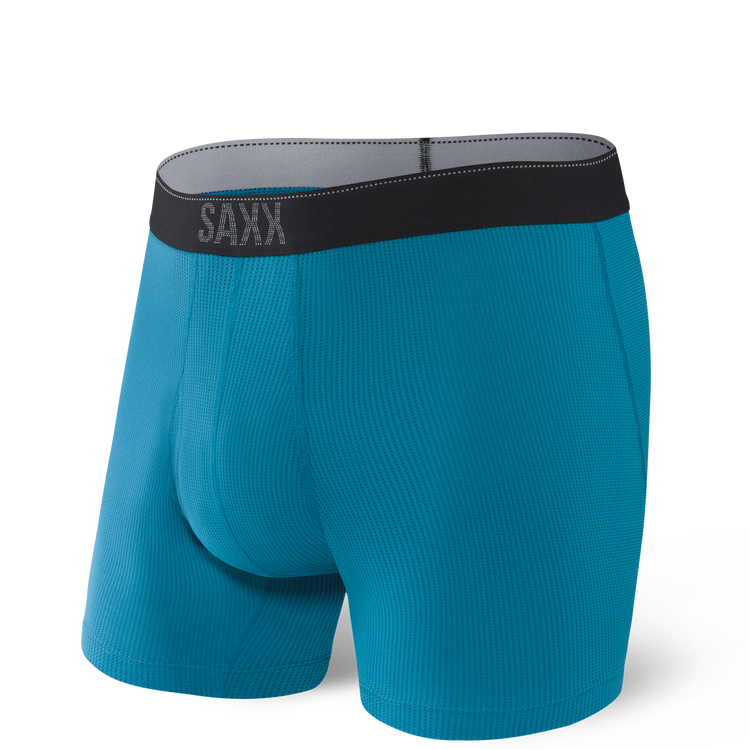 Quest Boxer Brief in Celestial Blue II by SAXX Underwear Co.