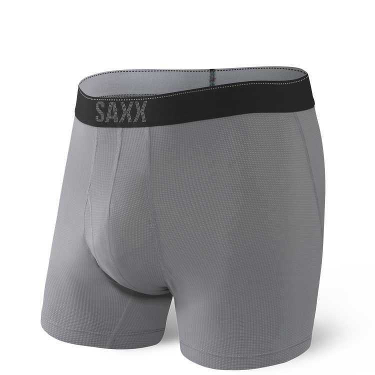 Quest Boxer Brief in Dark Charcoal II  by SAXX Underwear Co.