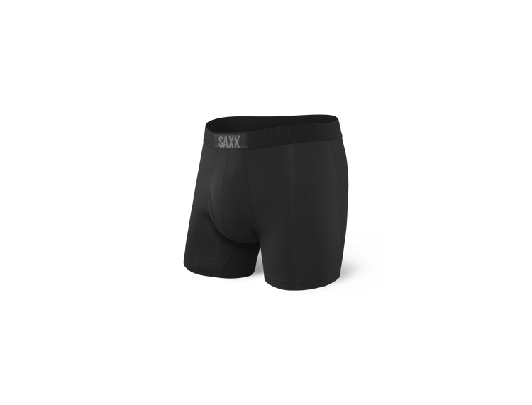 Ultra Boxer Brief in Black by SAXX Underwear Co.