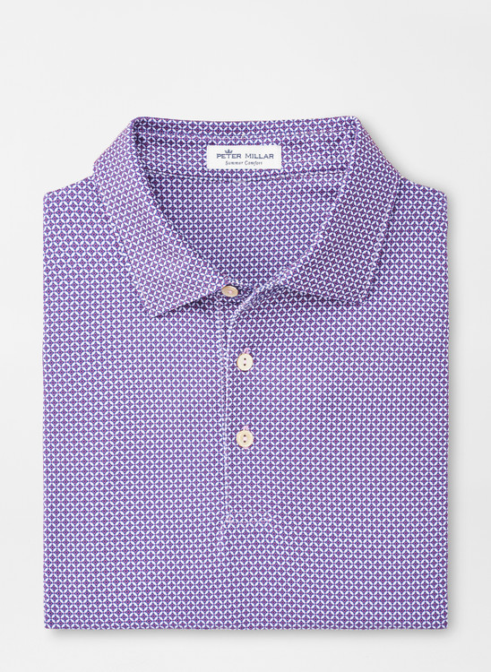 Bloomsbury Performance Polo in Wild Lilac by Peter Millar