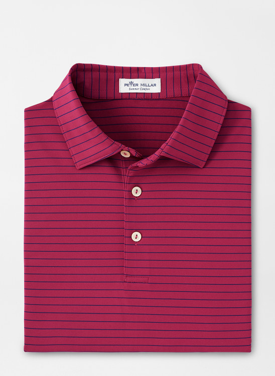 Crafty Performance Polo in Pomegranate by Peter Millar