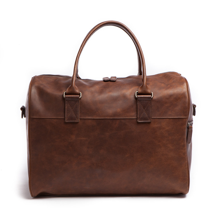 Booker Cabin Duffel in Baldwin Oak by Moore & Giles