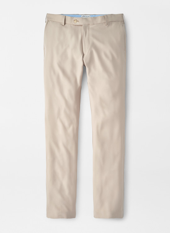 Durham Performance Trouser in Khaki by Peter Millar