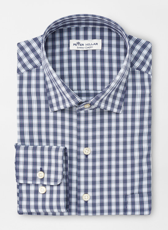 McCoy Performance Sport Shirt in Navy by Peter Millar