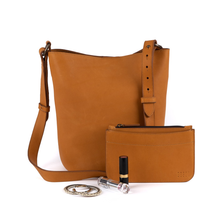 Easton Tote in Kireina Gold by Moore & Giles