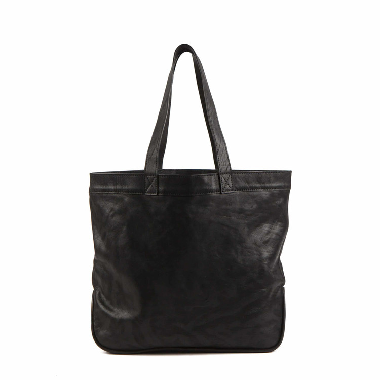 Erin Shop Tote in Luxe Black by Moore & Giles